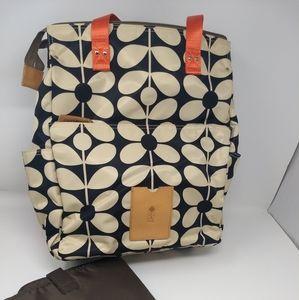 NEW!! Sample Orla Kiely Diaper Bag w/ Pad